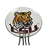 Louisiana State University Glass Bird Bath