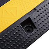 Yescom Medium Rubber Electrical Wire Cover Ramp