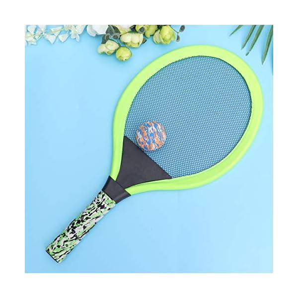 BESPORTBLE Set di Racchette da Tennis Maniglie Resistenti Badminton Racchette da Gioco Giochi da Spiaggia per Bambini… 5 spesavip
