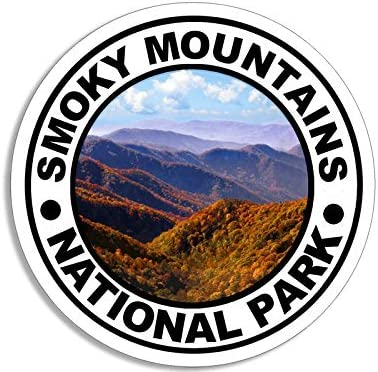 Rogue River Tactical Shenandoah National Park Sticker 5 Round Car Auto Decal Hiking
