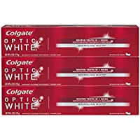 3-Pack Colgate Optic White Toothpaste, 5 Ounce