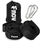 From now on, Fnova travel hammock tree straps with adjustable heavy duty 30 Loops will make your outdoor life more easier!   More convenient for Your Camping Life: Unlike other straps you will find, Fnova hiking hammock straps are very easy to use an...