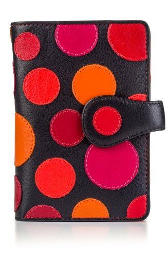 visconti-p1-saturn-ladies-soft-leather-large-bifold-wallet-purse-with-polka-dots-very-berry