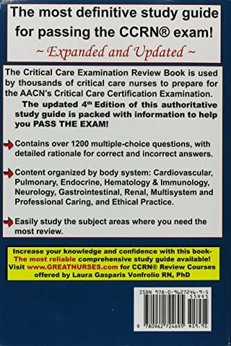 Critical Care Examination Review Revised - http://medicalbooks.filipinodoctors.org