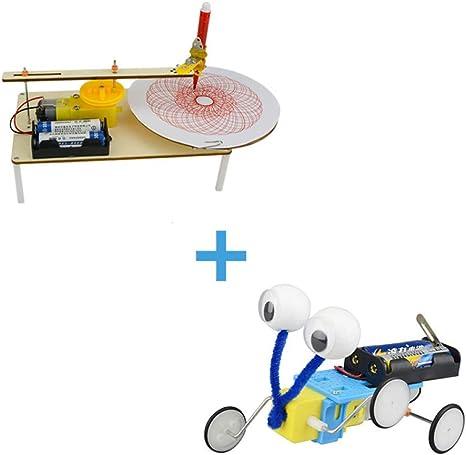 juler Stem Toys DIY Plotter eléctrico Escuela Primaria tecnología Hecha a Mano producción pequeña Materiales para el Trabajo científico de los niños: Amazon.es: Deportes y aire libre