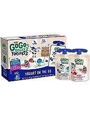 GoGo squeeZ yogurtZ, 3 Ounce (4 Pouches), Low Fat Yogurt, Gluten Free,