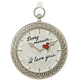 Hallmark Keepsake Christmas Ornament 2018 Year Dated Time for Love Pocket Watch Metal