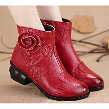 fd17109c177 RTRY Women S Shoes Real Leather Pu Winter Fashion Boots Combat Boots Boots  Flat Heel Booties