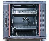 "12U 35"" Deep IT Wall Mount Network Server Data Cabinet Enclosure Rack Glass Door Locking. CDM"