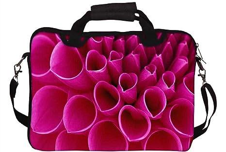 Snoogg rosa pétalos 43,18 cm a cm 44,7 York funda blanda funda