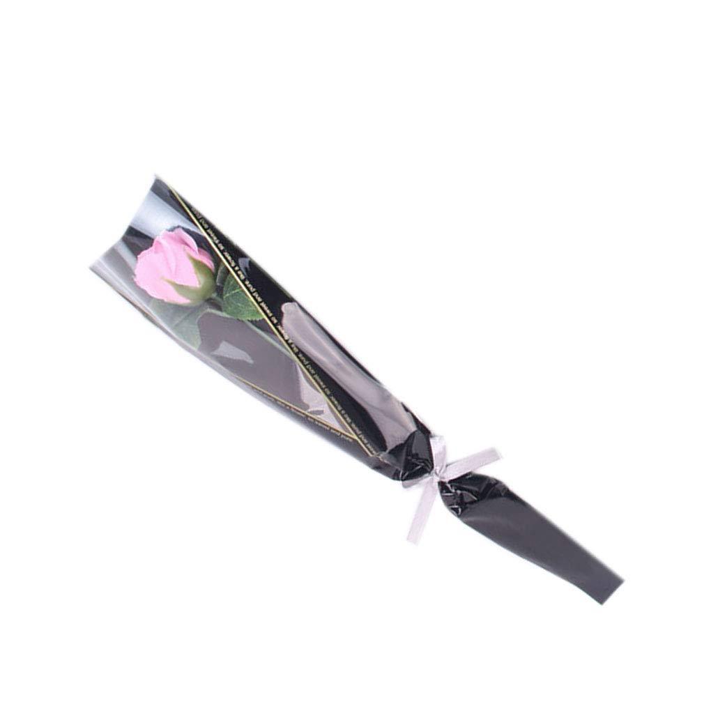 Kineca Regalo di Compleanno Bella Sapone Roses Fiori Day Festival Simpatico Orso di San Valentino Fai da Te Bagno Romantico Girlfriend Blue