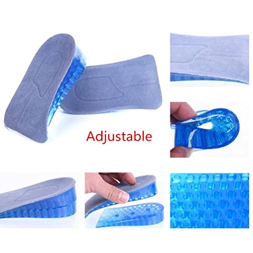 Price comparison product image Heel Support Pad Cup Gel Silicone Shock Chion Orthotic Insole Plantar Care