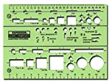 Rapidesign Electrical Drafting And Design Templates (Basic Lighting Fixture Symbols) *** Product Description: Rapidesign Electrical Drafting And Design Templates- Description: Basic Lighting Fixture Symbols- Unit: Eacha Variety Of Inking And Draf ***