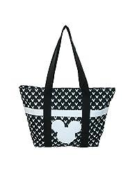 Disney Mickey Mouse Tote Bag, Black