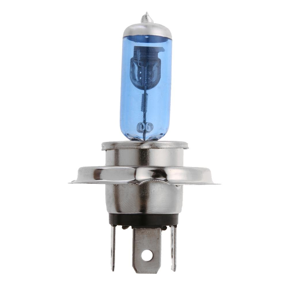 Auto Headlight, Nelnissa 1pc H4 12V 60/50W 5,000K-6,500K Ultra White Halogen Lamp Car Headlight Bulb