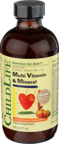 Child Life Multi Vitamin and Mineral, 8-Ounce ()