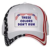 THESE COLORS DON'T RUN USA Flag Hat [Apparel] offers