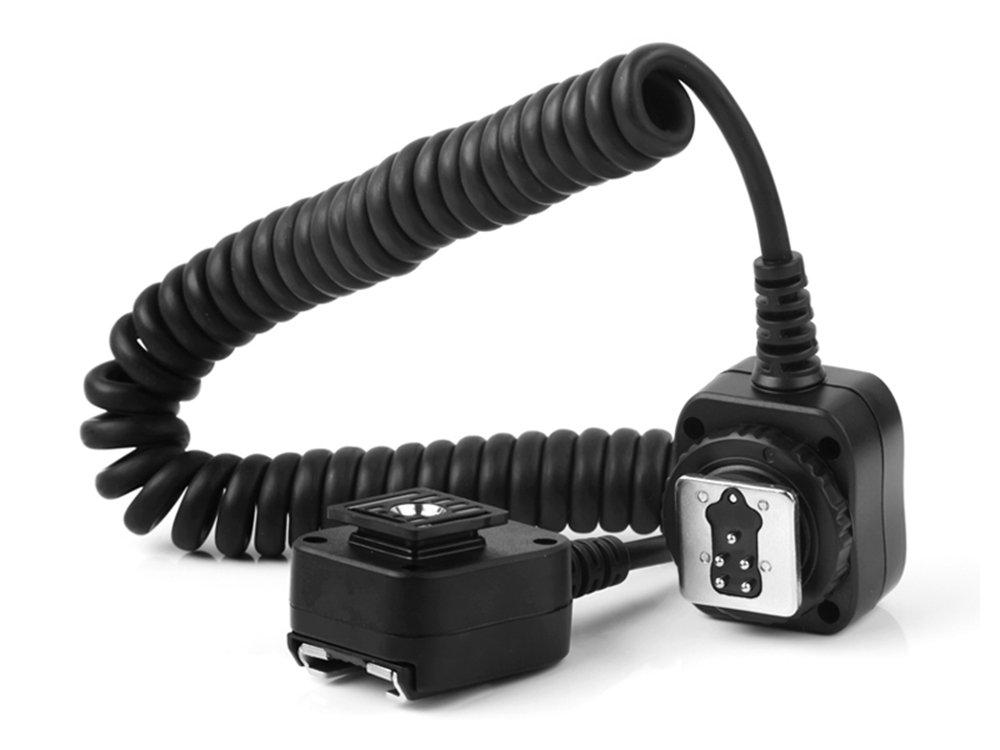 Pixel 1.8M E-TTL Off-Camera Shoe Flash Cord for Canon DSLR Flash 580EX II 550EX Canon 430EX II Canon 420EX 380EX Replaces OC-E3 by PIXEL