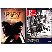 Benedict Arnold A Question Of Honor , Paul Revere Biography : A&E Revolutionary War 2 Pack Collection