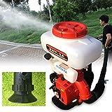 KANING Mist Duster Sprayer,2-Strock Backpack Agricultural Mist Duster Sprayer Gasoline Powered Garden Blower Machine USA Stock