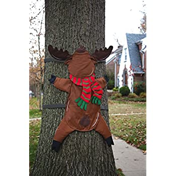 Reindeer Splat Tree Wrap