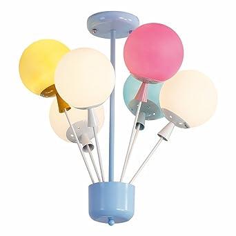 E27 Moderne Kinder Kinderzimmer Lampe Schöne Lampe Kreative Ballon Baby  Lampe Doppelherz Kinder Lampe Deckenleuchte Kinderzimmer
