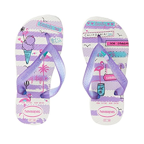 White Ragazza Kids purple Havaianas Fantasy Infradito pY4UI