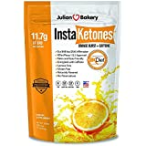 InstaKetones 11.7g GoBHB per Scoop +Organic Caffeine (Orange Burst) (1 Pack) (+Caffeine) (15 Servings) Exogenous Ketones