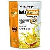 InstaKetones 11.7g GoBHB per Scoop +Organic Caffeine (Orange Burst) (1 Pack) (+Caffeine) (15 Servings) Exogenous Ketones