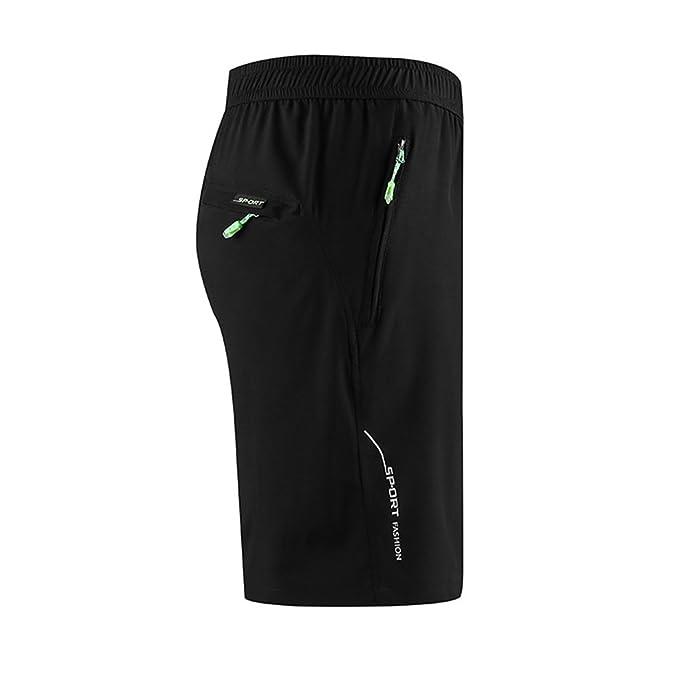 f53c92701a3576 Bliefescher Sporthose Herren Kurz Fitness Sport Schnell Trocknend Shorts  Einfarbig Trainingshose  Amazon.de  Bekleidung