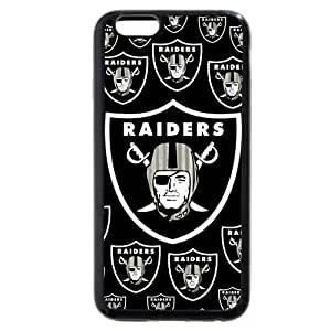 "UniqueBox Customized NFL Series Case for iPhone 6+ Plus 5.5"", NFL Team Oakland Raiders Logo iPhone 6 Plus 5.5 hjbrhga1544"
