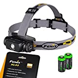 EdisonBright Fenix HL55 900 Lumen CREE XM-L2 T6 LED Headlamp with 2 X...