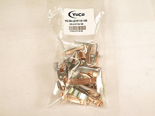 YuCo REPLACMENT 3 POLE CONTACT KIT YC-CK-LC1F115-150 FITS TELEMECANIQUE LA5-FF431 LC1F115 LC1F150
