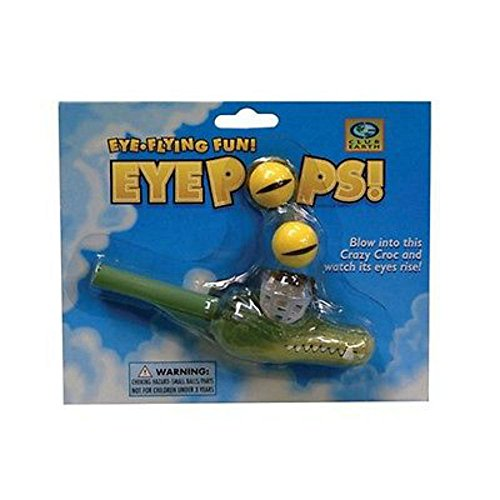 Alligator Eye Pops Speech Therapy Tool Toy Oral Motor, Special Needs
