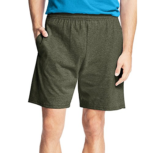 - Hanes Men's Jersey Cotton Shorts