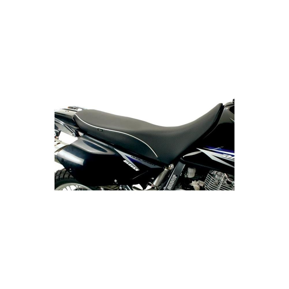 Sargent World Sport Seat Low Black W/ Black Accent for Suzuki DR650SE 1996-2009
