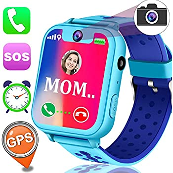 Kids Smart Watch Phone GPS Tracker Watch for Girls Boys 1.5