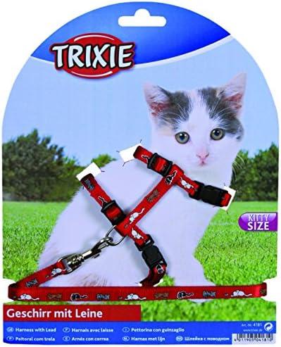 Trixie Arnés y Plomo Set para Gatitos de SM Gatos Collar (Color ...