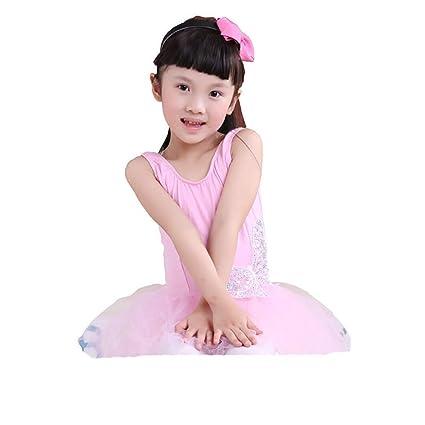 5c458589147d Amazon.com  Xiao Jian Dance Clothes - Young Children Dance Costume ...