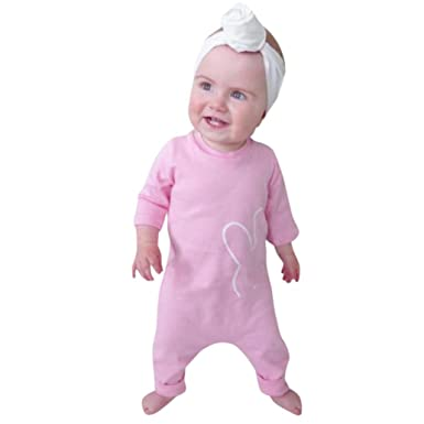 DAY8 Vetement Bebe Garcon Ete Pas Cher Body Bebe Fille Naissance Chic  Printemps Pyjama Bébé Fille 85edd637039