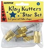 Kemper Klay Kutters 5 Piece Star Set