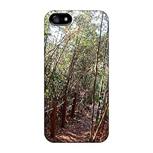 LatonyaSBlack Fashion Protective Bamboo Grove Trails Case Cover For Iphone 5/5s