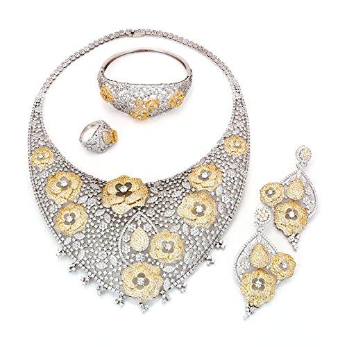 Yulaili Bridal Jewelry Set,17