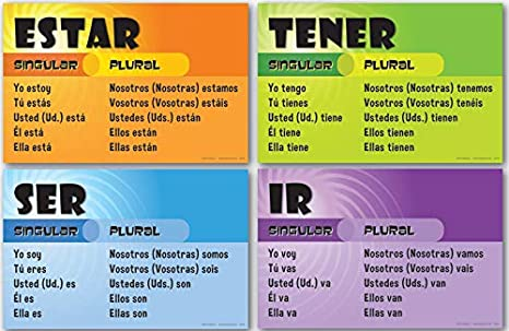 How to make spanish verbs plural