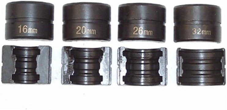 Composite pour tuyau Ensemble de pince /à sertir pince /à sertir Lot Th-contour Tuyau kit de pince /à sertir 16 32/mm /à sertir M/âchoires becs de pression pour PEX