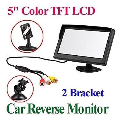 BW /Écran LCD couleur de cam/éra de recul et 3,5 pouces