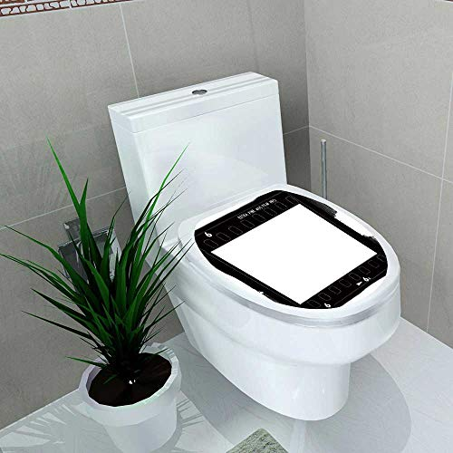 (also easy Toilet Sticker 35mm Film Rebate from a Camera Home Decor Applique Papers W8 x L11)