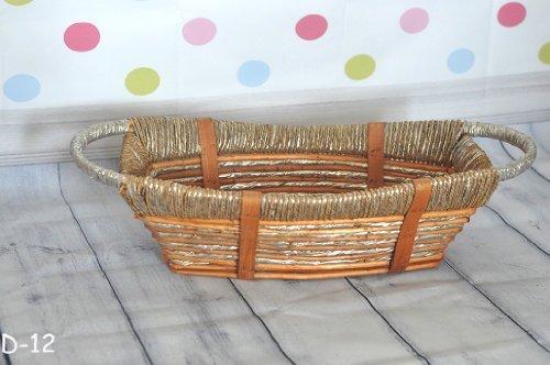 Newborn Baby Infant Studio Professional Photography Photo Posing Props Handmade Woven Basket D-12