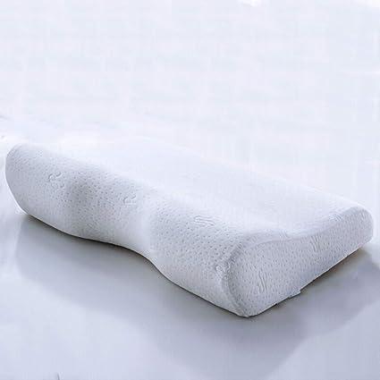 D_HOME Almohada con Memoria Cojín Cervical para Dormir Almohada con Espuma de Memoria Almohada con Memoria