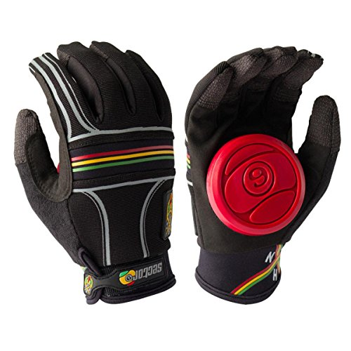 - Sector 9 BHNC Slide Glove, Rasta, Large/X-Large